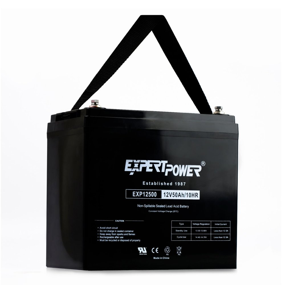 50 Amp-Hr Battery $115.00