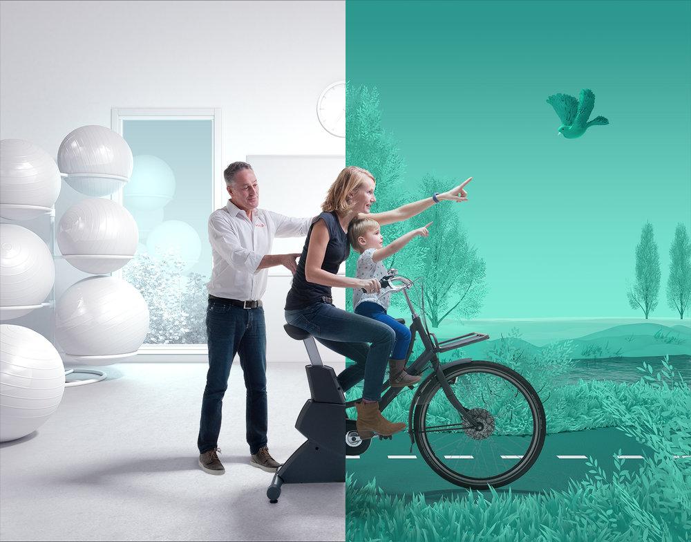 OCA concept photography bike