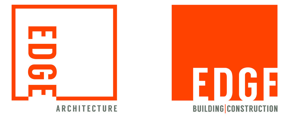 Logos for Edge Architecture and Edge Building and Construction