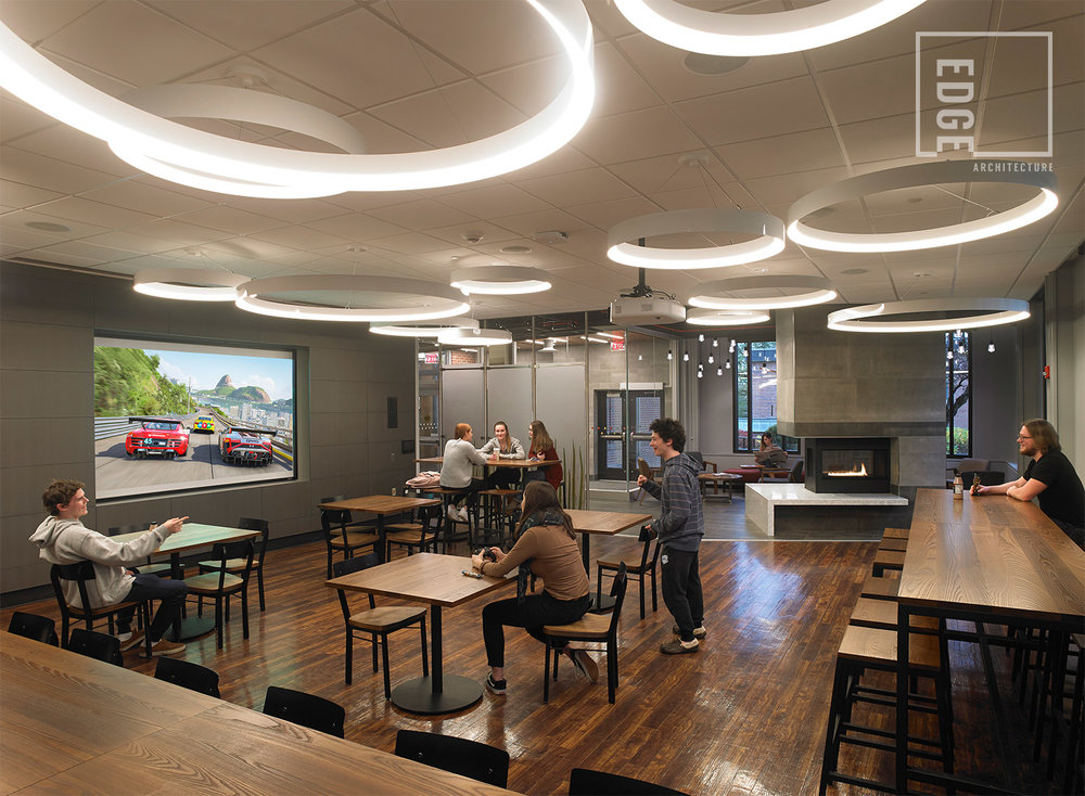 SUNY Geneseo Red Jacket Dining Hall Southside Lounge/Multi-purpose Room