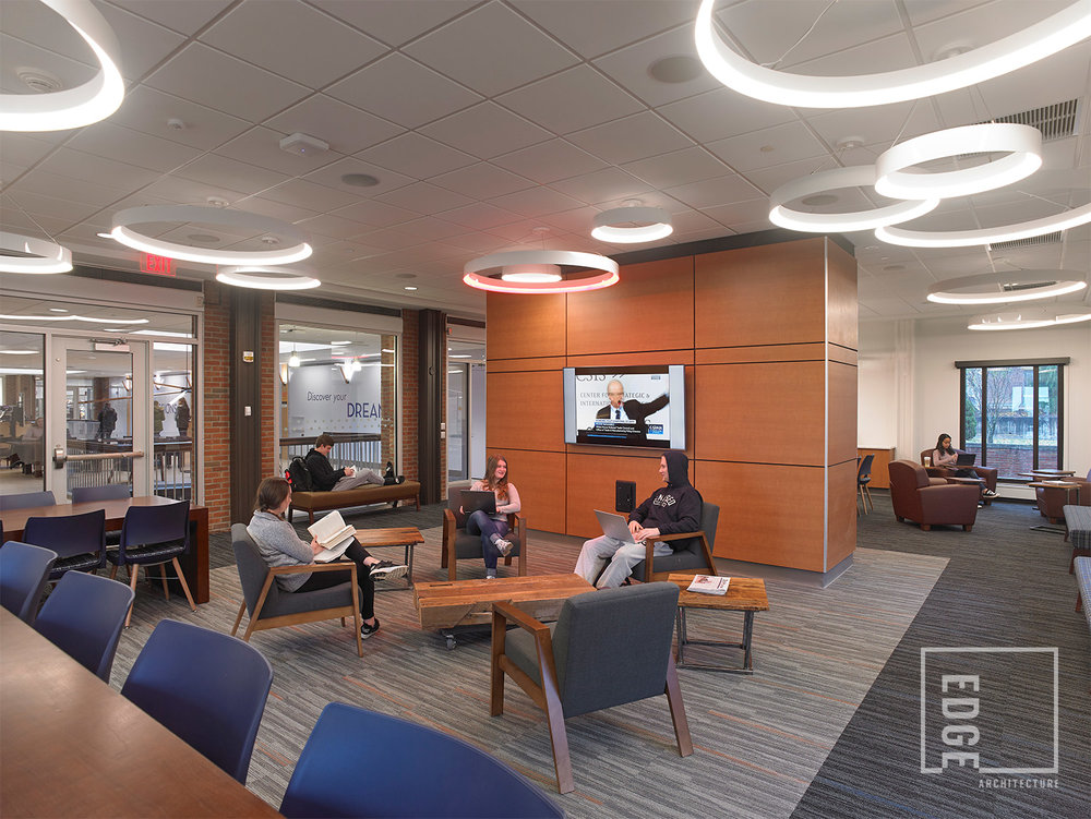 SUNY Geneseo Red Jacket Dining Hall  Study Lounge