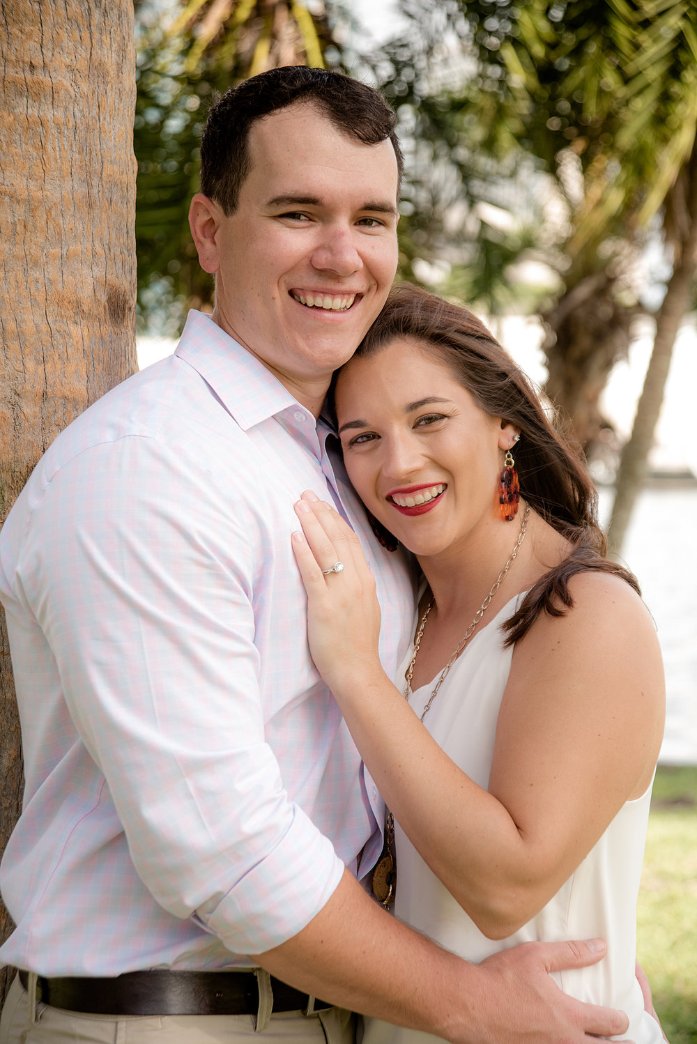 Katie & David - December 1, 2018 - Curtis Nixon Park, University of Tampa, Tampa, FL