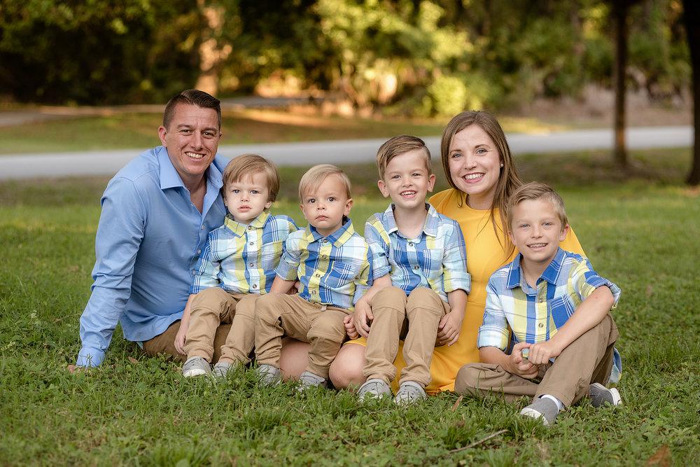 The Pursser Family - March 15, 2019 - Walsingham Park, Largo, FL; Indian Rocks Beach, FL