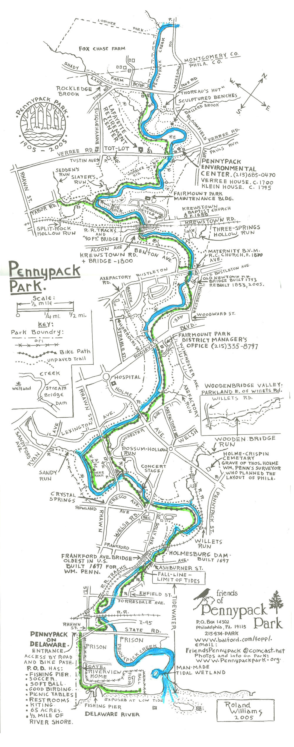 Park Detail Map -