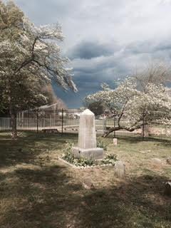 Thomas Holme's grave