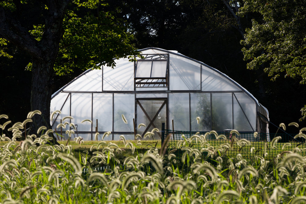 Moveable Hoop House