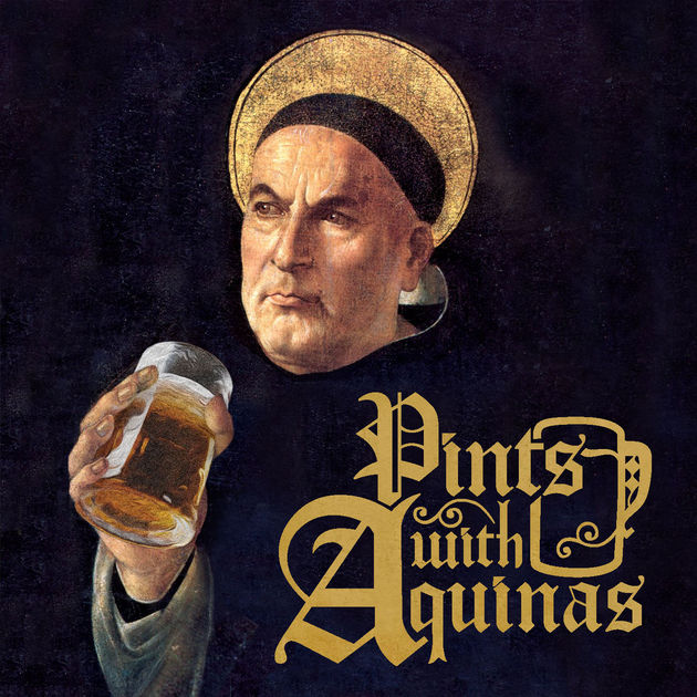 Check out:  pintswithaquinas.com