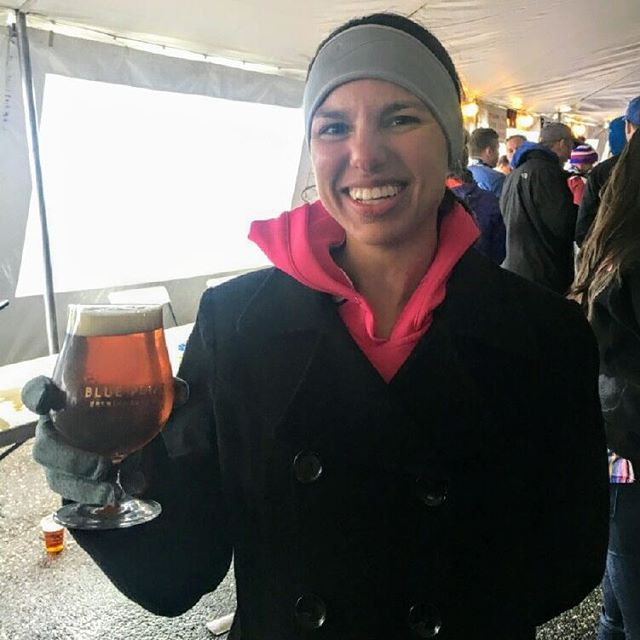 Congrats to Breakthru Athlete Erin who raced her way to 3rd Place AG at the 10 mile Run to the Brewery. PR by over 30sec/mi!! She ran, she won and now she's celebrating!