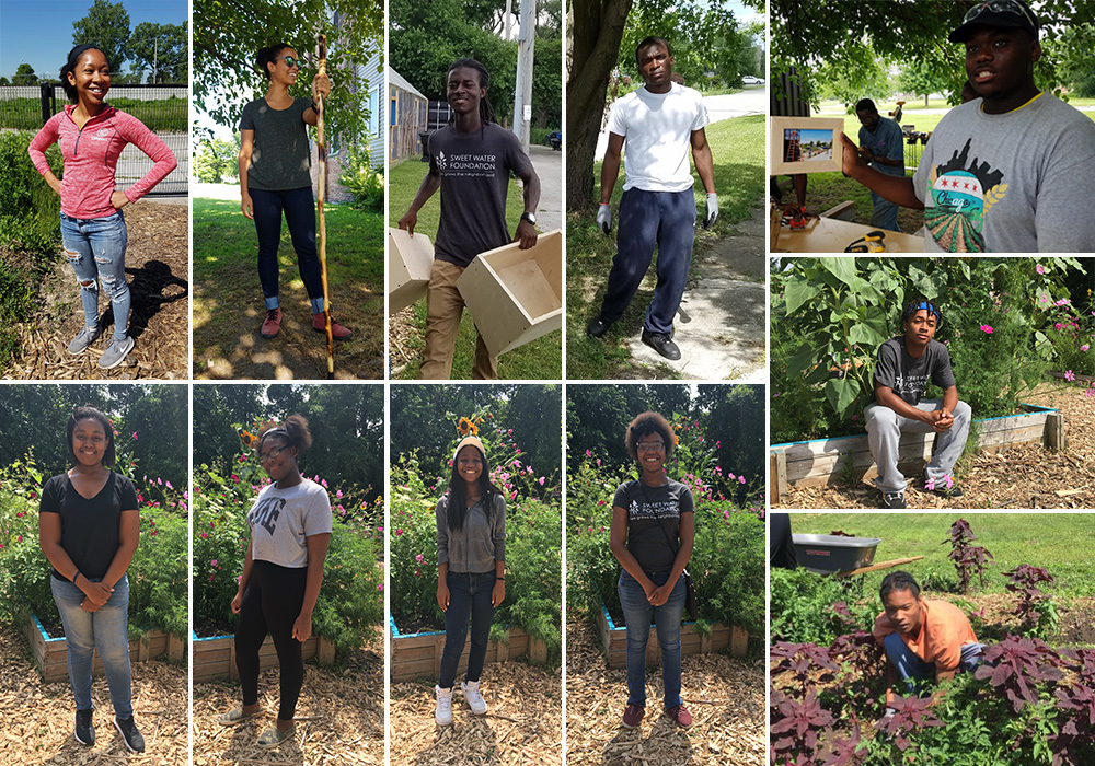 Clockwise from top left: Dejah Powell, Rose Florian, Maurice Hursey, Michael McClain, Quory Watkins, Jalen Evans, Darien Baker, Mahoganey Wright, Trinity Tousaint, Saiesha Kennedy, and Tamara McBee.