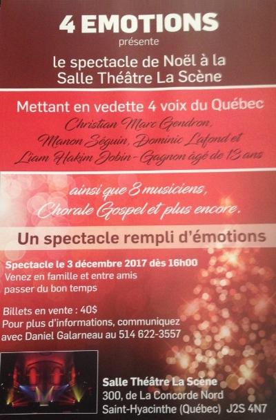 Spectacle Noel Salle Théâtre La Scène