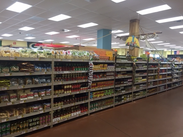 Trader Joe's aisles - fully stocked, clean, & easy to shop