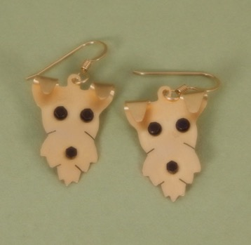 d3297af82 Wirehaired Fox Terrier Earrings