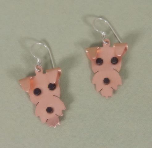 53b02ec10 Airedale Terrier Earrings
