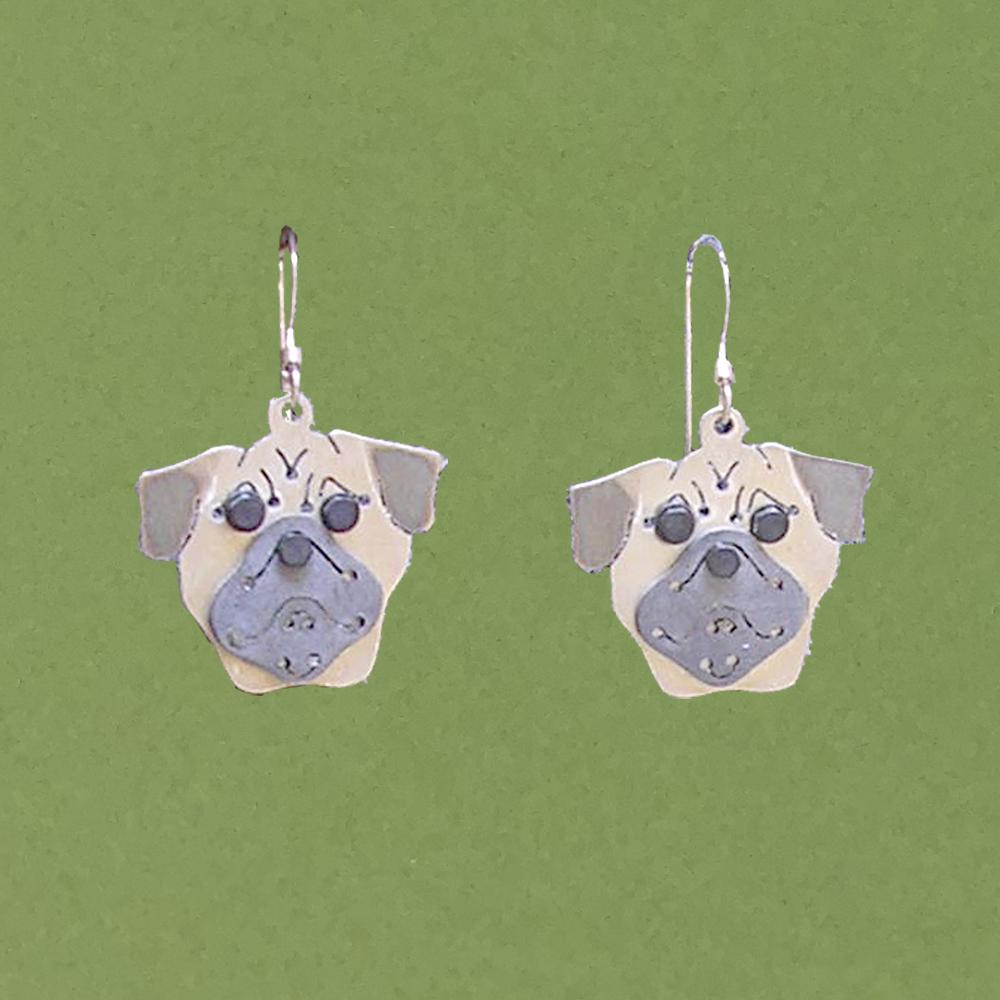 ec52f36f6 Pug Earrings — Anita Edwards