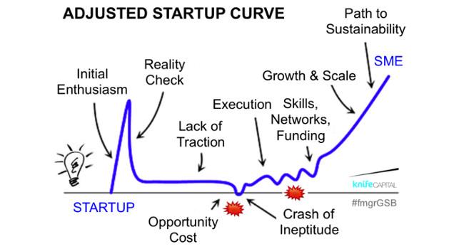 Adjusted Startup Curve