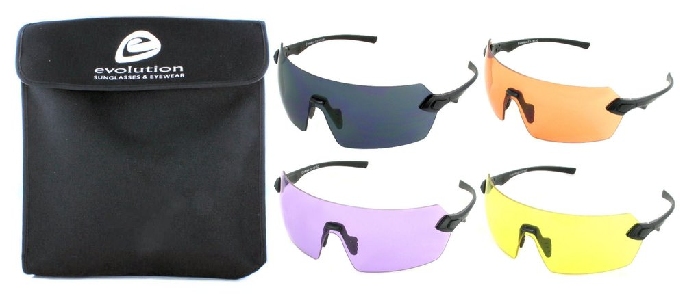 Evolution 4 colour glasses from Sunglasses for Sport