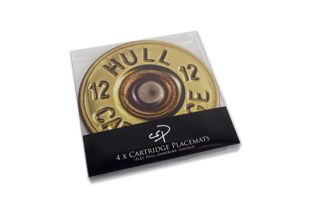 CSP Cartridge Table Mats from Charles Sainsbury-Plaice