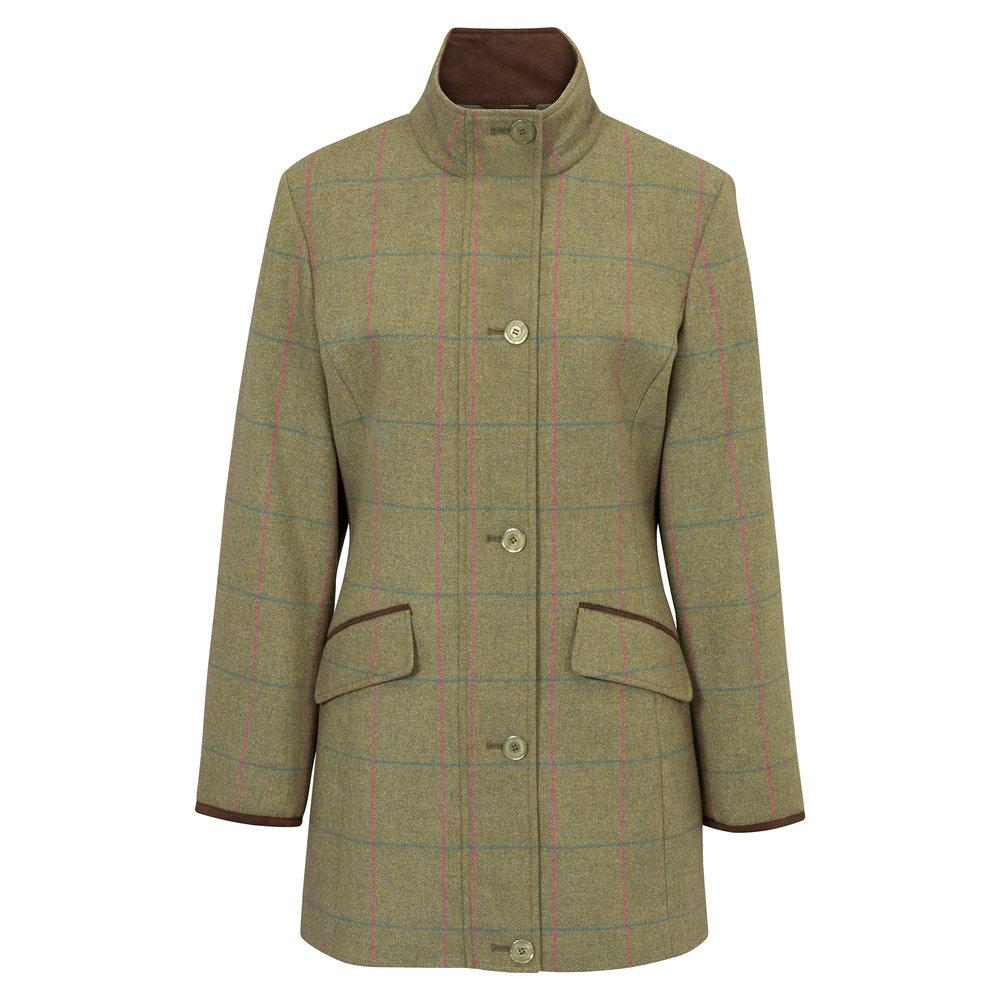 Alan Paine Combrook Ladies Field Jacket in Juniper.jpg
