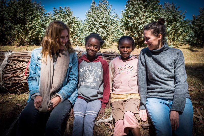 Bild från Etiopien-resan av  Anna Ledin Wirén .