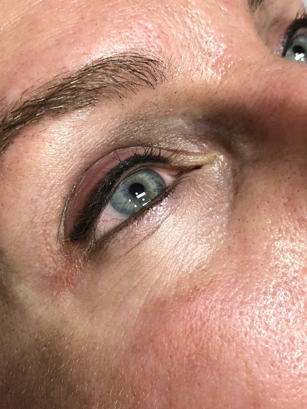 Immediately After ~ Wedged Smoky Lash Enhancement