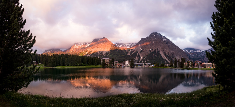 Abend in Arosa