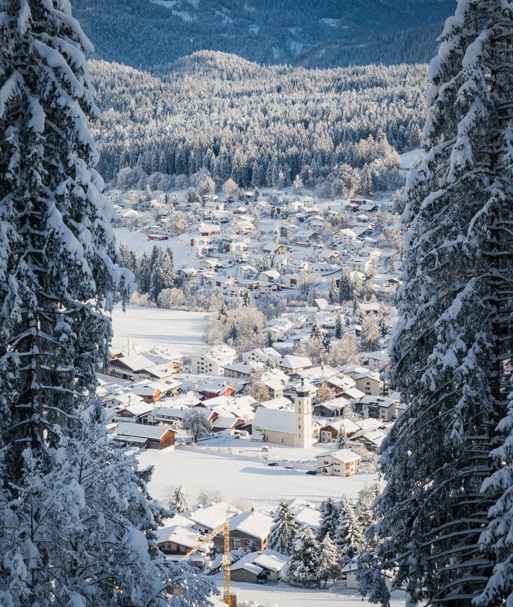 Flims im Winter