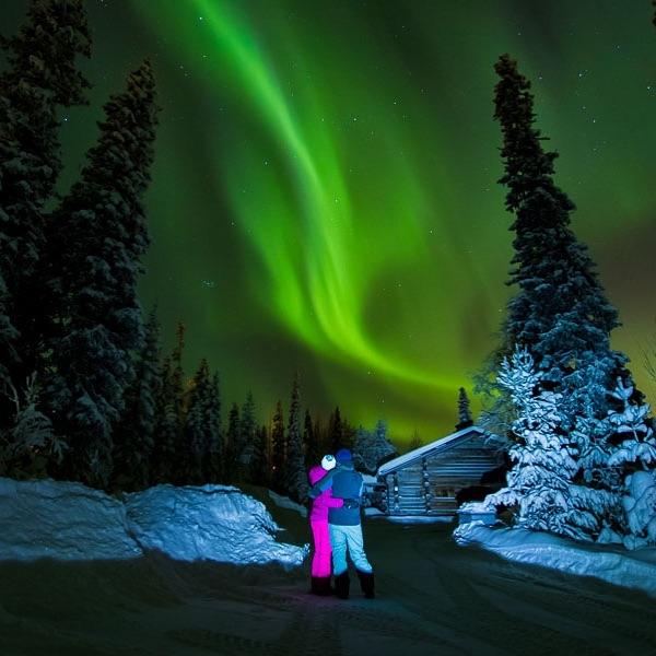 Great aurora yesterday  #kontikireisen  #reisenstattferien  #flyedelweiss  #visitlappland  #ourfinland  #visitluosto #bodylpics