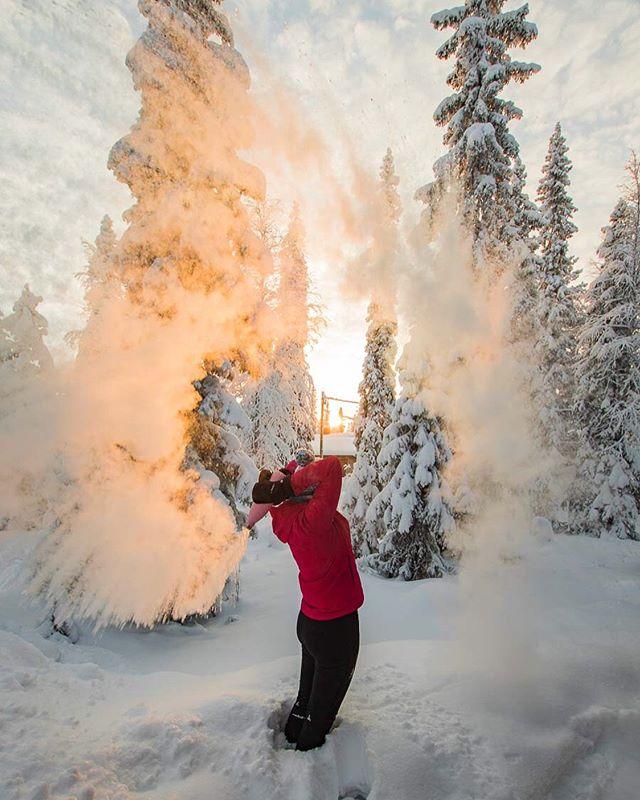 Lapland tourist photo no. 1  #kontikireisen  #reisenstattferien  #flyedelweiss  #visitlapland @visitlapland  #ourfinland  #visitluosto #bodylpics
