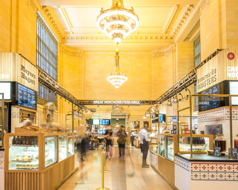 GREAT NORTHERN FOOD HALL - GRAND CENTRAL STATION, MANHATTAN