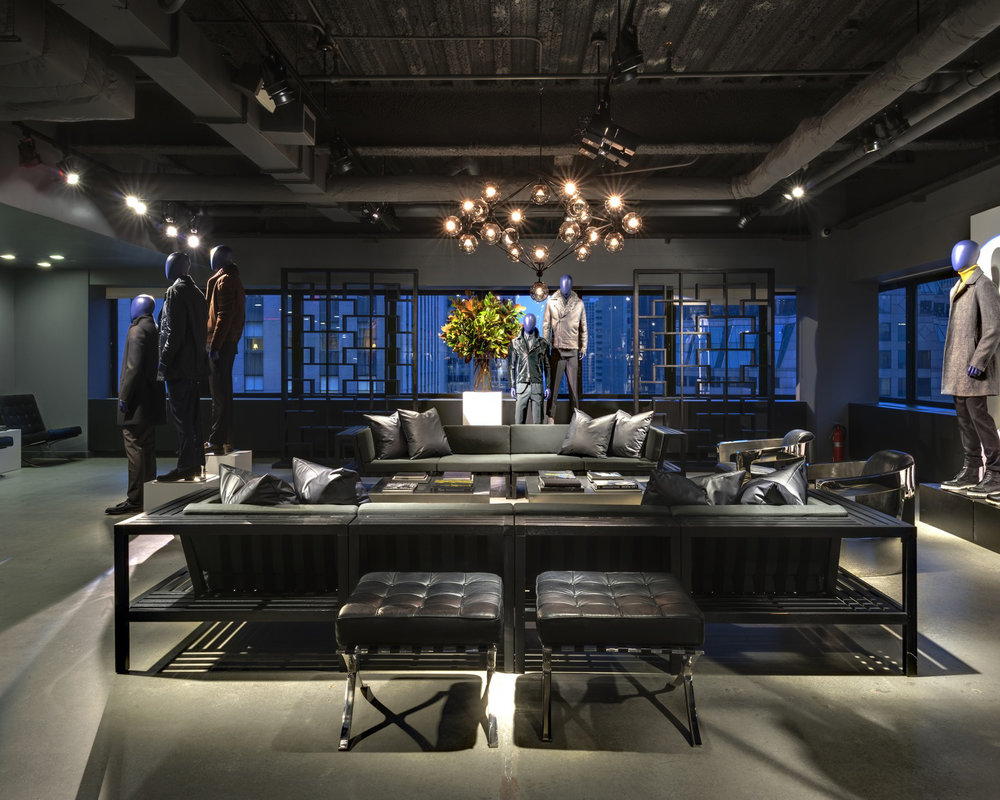 JOSEPH ABBOUD SHOWROOM - MANHATTAN, NEW YORK