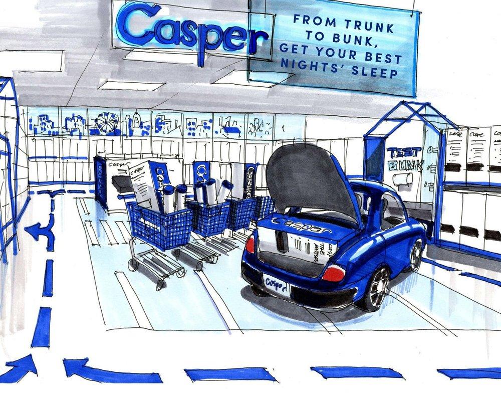 CASPER - CONCEPT SHOPS
