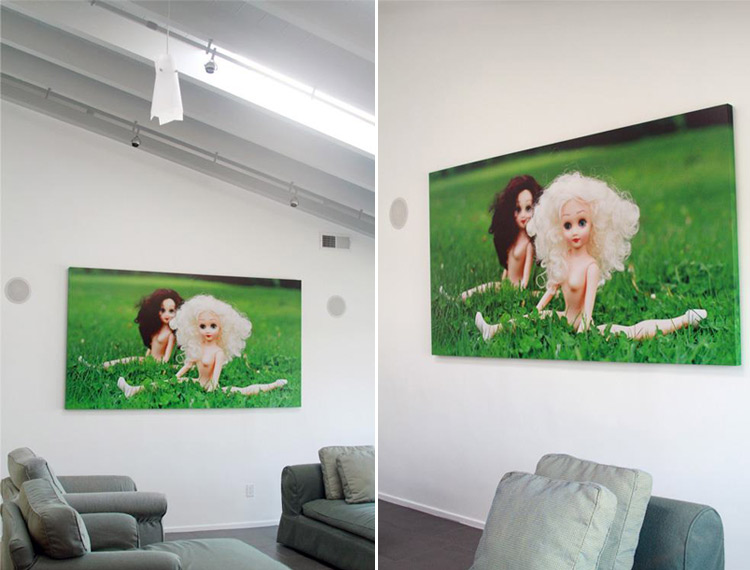 Where the Grass is Greener, large canvas