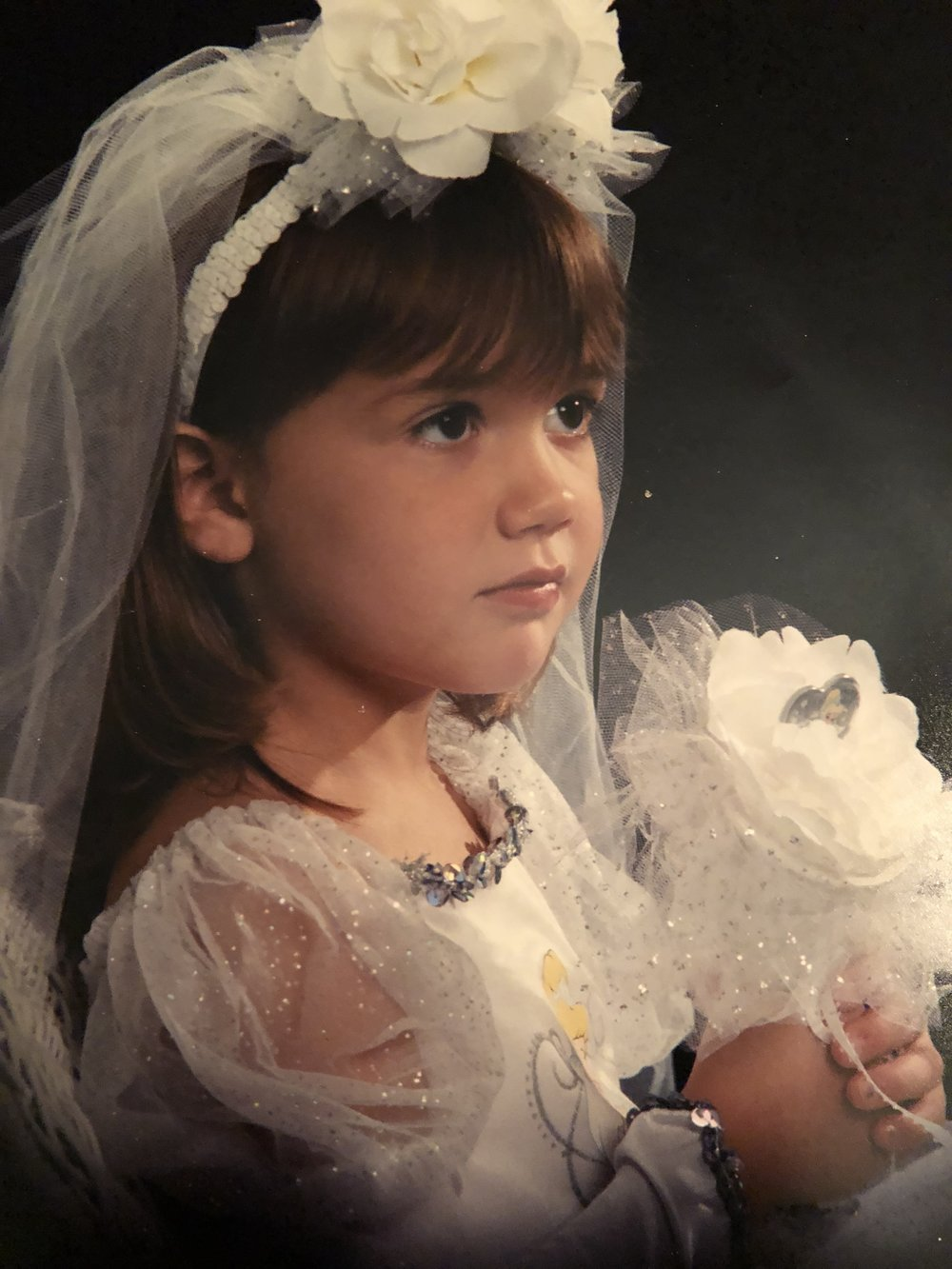 Me as Cinderella. One of my favorite princesses!