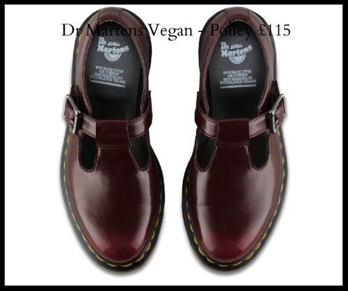 Dr Martens Vegan Polley Flat Shoes