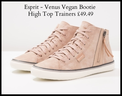 Esprit Venus Vegan Bootie High Top Trainers