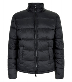 New Look Men Puffer Jacket £39.99 - This classic puffer jacket is made with nylon, polyester and elastane. Not a feather in sight!