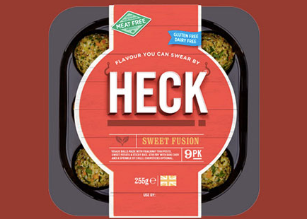 Heck - Packed with flavour and easy to cook, these Heck vegetable, herb, rice and pulses balls work well in a light lunch or served as a snack with a glass of wine.