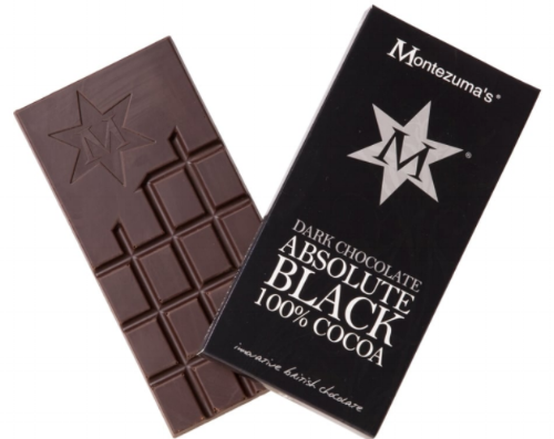 Montezuma's Absolute Black - I'm dark chocolate fiend, always have been. The darker, the happier I am. Montezuma's Absolute Black is 100% cocoa, which already tells you that this bad boy is intense and quite bitter. With less than 8% sugar for 100gr, this is a pure chocolate that works well in a ganache, sauce, Mexican mole and to make a rich, intense cup of hot chocolate to keep you warm and cosy this November. Add sweetener of your choice.