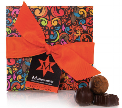Montezuma's Vegan Chocolate Collection - Giving a box of chocolate to somebody can be a little uninspired, but not to a vegan! We are always on a quest for delicious chocolate and this selection makes a great gift or a delicious treat for yourself.