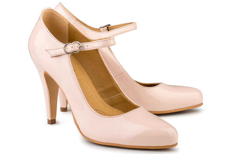 Eco Vegan Shoes Hellen Heels £110 -