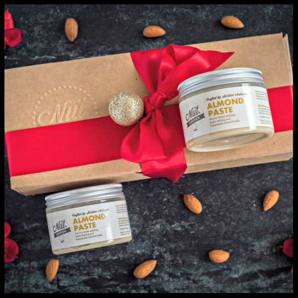 Make Your Own Almond Milk Gift Set - Those who love making everything from scratch will adore this gift. With three jars of almond paste, making nut milk is a doddle. This set is beautifully packaged and of course, wonderfully practical. £23.95. Buy now.
