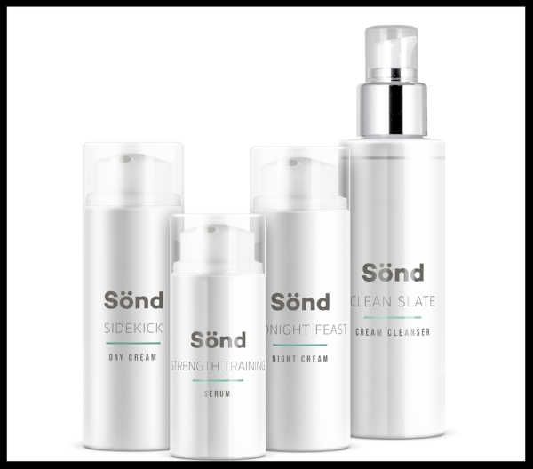 Sönd Skincare Rejuvenate Gift Set - Skincare brand Sönd's scientific approach is based on alkaline and PH levels. Unisex and with a chic, minimalist packaging, this set contains everything for the ultimate skincare routine needs (day and night creams, serum and cleanser) and would make a precious gift for a loved one who takes their beauty regime seriously and is always on the lookout for a vegan, ethical brand that really delivers. £110. Buy now.