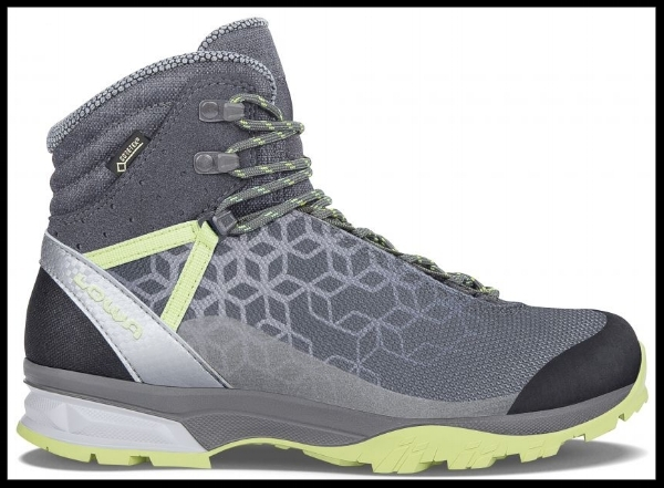 Lowa LYXA GTX® MID WS Vegan Walking Boots  - 100% vegan trekking boots are hard to find, but these by Lowa tick all the boxes and your hiking enthusiast loved one will be over the moon to receive these. £190. Buy now.