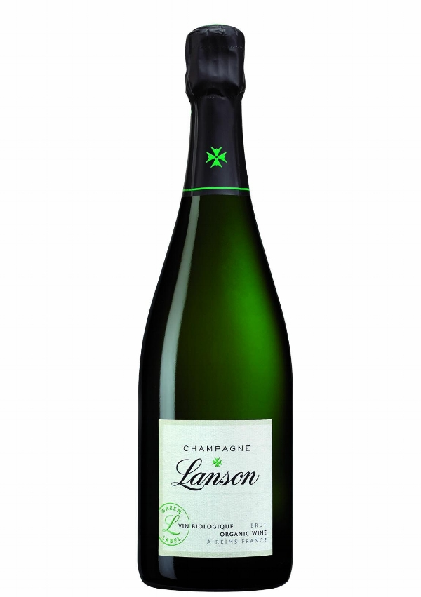 Lanson Organic Green Label Champagne - Light and lively, this organic champagne by Lanson is fresh, crisp and easy to drink. £45.95