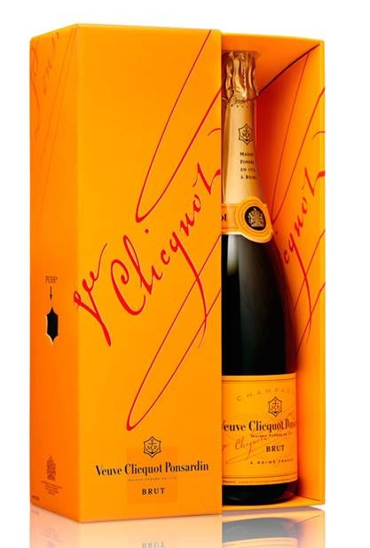 Veuve Clicquot Yellow Label Brut - This zingy and elegant champagne is perfect to toast the New Year in style. £39.95. Buy now.