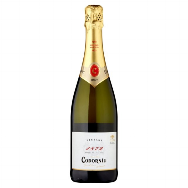 Codorniu 1872 Vintage Brut Cava - A complex and delicious cava with floral, pear and lemon notes. £7.99. Buy now.
