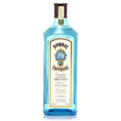 Bombay Sapphire - Where would we be without gin? So many cocktails are gin based and then of course there's G&T, a refreshing drink that works well in summer and winter. £20. Buy now.