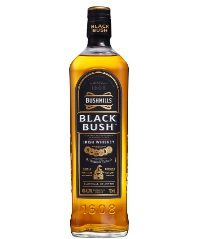 Bushmills Black Bush - Fruity, spicy and full bodied, Bushmills Black Bush is an Irish blended whisky that will keep you warm during these cold winter evenings. If you prefer a single malt whisky, the brand does an excellent one too. £28. Buy now.