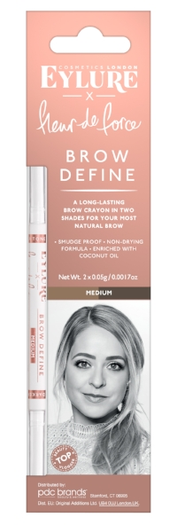 Eylure Fleur De Force Brow Define - This double sided brow crayon comes in two shades to define and tidy your eyebrows naturally. It's perfect to pop into your bag and apply as you hop from party to party. £12. Buy now.