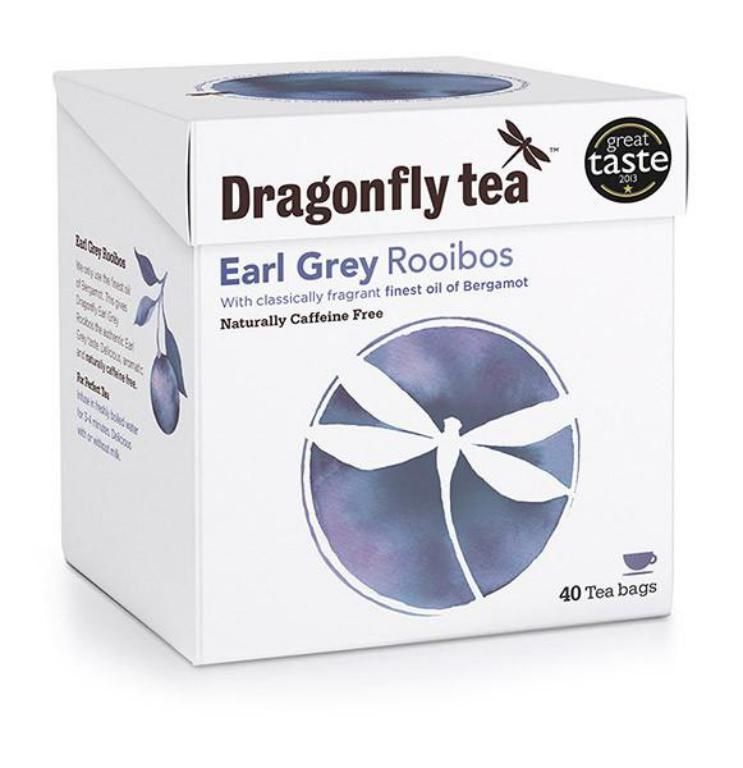 Dragonfly Earl Grey Rooibos Tea - One of my New Year's resolutions is to reduce my reliance on caffeine and rooibos tea is a great alternative. I adore bergamot and love Earl Grey and Lady Grey teas and this Dragonfly tea is so full flavoured and rich in taste that it doesn't feel like you are choosing the 'healthy option'.